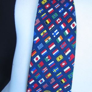 79d2d0b209e35 russell-hampton co Accessories - Rotary International Flag Tie
